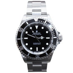 Rolex Submariner 14060 Black Stainless Steel Box and Papers