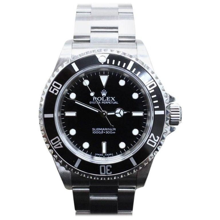 Rolex Submariner 14060 Black Stainless Steel, 2007
