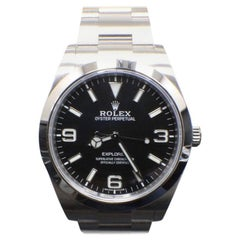 Rolex Explorer 214270 Black Dial Stainless Steel