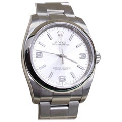 116000 Oyster Perpetual Stainless Steel Box and Papers 2015