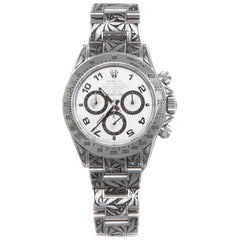 Huckleberry Ltd engraved Rolex Daytona
