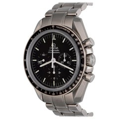 Omega Stainless Steel Speedmaster Professional Chronograph Manual Wristwatch