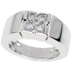 Van Cleef & Arpels Diamonds J Ring 18 White Gold