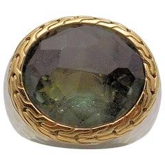 Green Quartz Ring by John Hardy