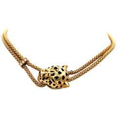 Panthère de Cartier Necklace 18 Karat Yellow Gold