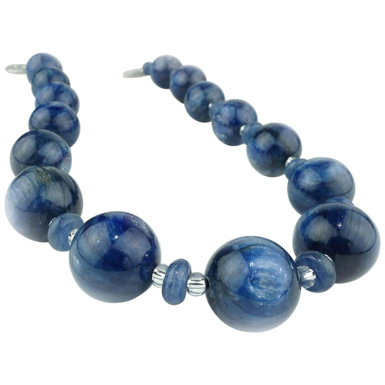 Magnificent Blue Kyanite Necklace