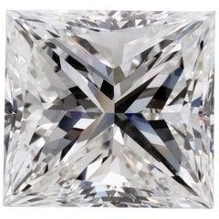 Certified 8.16 Carat Princess Cut Diamond