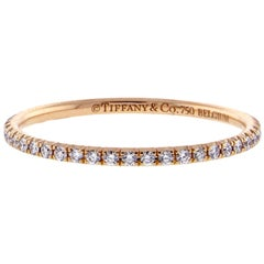 Tiffany & Co. Metro Diamond Full Circle Band Ring