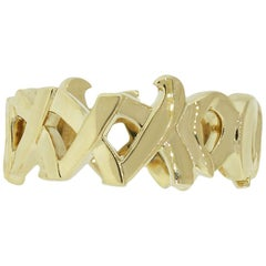Tiffany & Co. Paloma Picasso Graffiti Love and Kisses Ring