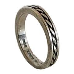 Georg Jensen Sterling Silver Ring No A106
