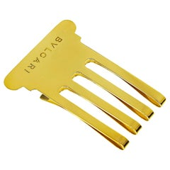 Bvlgari Gold Money Clip 18 Karat Yellow Gold