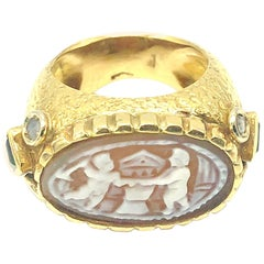 Cammeo Gold Ring