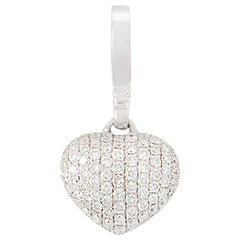 Theo Fennell Diamond Heart Charm