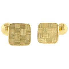 Tiffany & Co. 18 Karat Gold Cufflinks