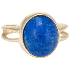 Sodalite Cocktail Ring