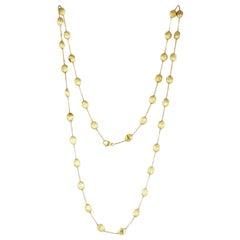 Marco Bicego Siviglia 18 Carat Yellow Gold Long Necklace