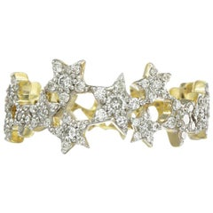 Zoe and Morgan Milky Way Yellow Gold Diamond Ring