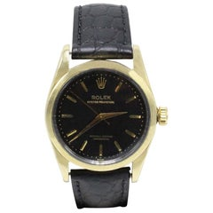 Vintage Rolex 6634 Oyster Perpetual 14 Karat Gold and Stainless Steel, 1942