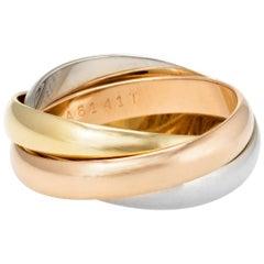 Les Must de Cartier Trinity Ring 18 Karat Gold