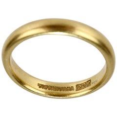 Tiffany & Co. 22 Karat Yellow Gold Band Ring