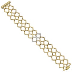 Tiffany & Co. Paloma Picasso Yellow Gold Diamond Bracelet