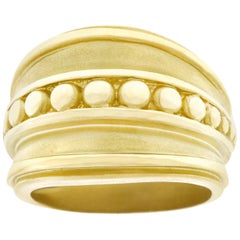 Kieselstein-Cord Yellow Gold Ring