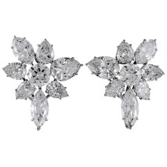 Harry Winston Diamond Ear Clips