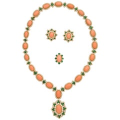 Iconic 1970s Van Cleef & Arpels Coral Set