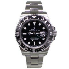 Rolex GMT Master II 116710 Black Ceramic Stainless Steel with Box and Booklets