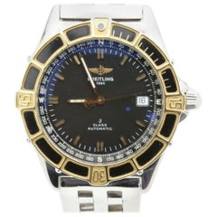 Breitling Men's J Class D10067 18 Karat Yellow Gold and Stainless Steel
