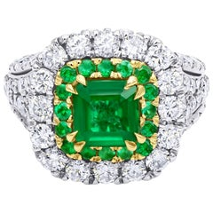 Royal 1.80 Carat Emerald Ring
