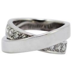 """Cartier """"Noubelle Vague"""" Etincelle Diamond Ring"""