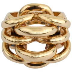 Cartier Gold Arches Ring