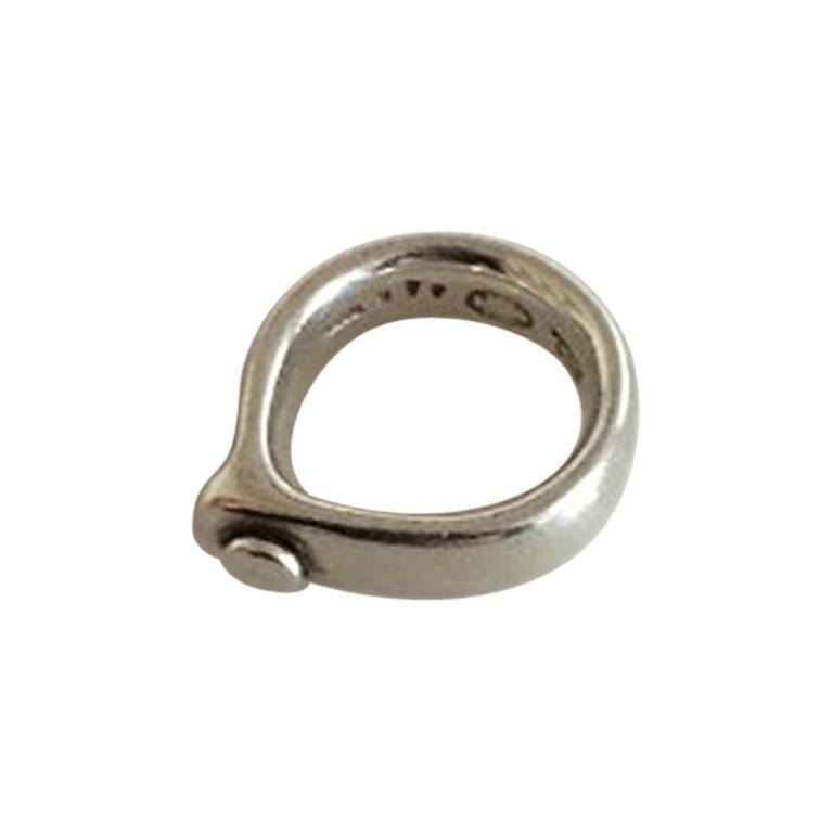 Georg Jensen Sterling Silver Torun Ring No 440