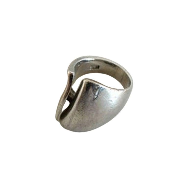 Georg Jensen Sterling Silver Ring