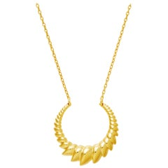 Gold Vermeil Armor Necklace