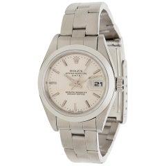 Rolex Date 69160 Women's Watch in Stainless Steel