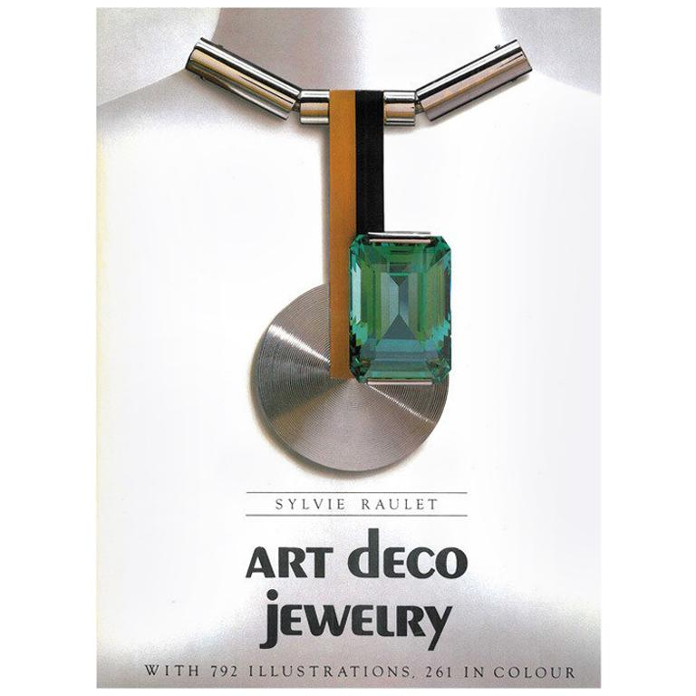 Book of Art Deco Jewelry by Sylvie Raulet