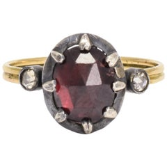 BL Bespoke Rose Garnet Power Ring