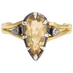 BL Bespoke Imperial Topaz Heart Ring