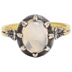 BL Bespoke White Moonstone Power Ring