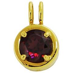 Ladies Rhodolite Garnet Pendant
