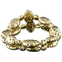 John Hardy 18 Karat Yellow Gold Kali Bead Bracelet