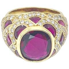 Natural Thai Ruby Ring