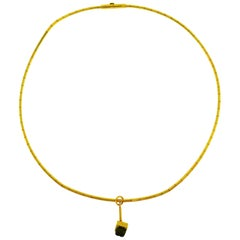 Cartier Yellow Gold Necklace, 1999