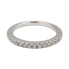 Vera Wang Love Diamond Wedding Band Ring 14 Karat White Gold