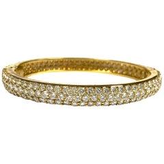 Hammerman Brothers Diamond Bangle Bracelet