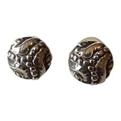 Georg Jensen Sterling Silver Earrings No 57