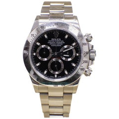 Rolex Daytona Cosmograph 116520 Stainless Steel Box and Papers Unpolished 2015