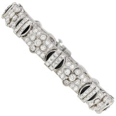 Tiffany & Co. Diamond and Onyx Bracelet